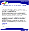 eBay Scalping Letter