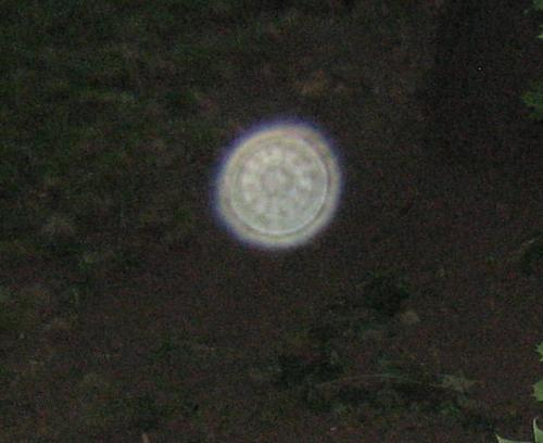 Close up of Orb