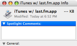 Automator icon for iTunes w/ last.fm