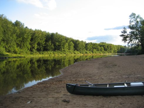 Mighty Saco River in Maine