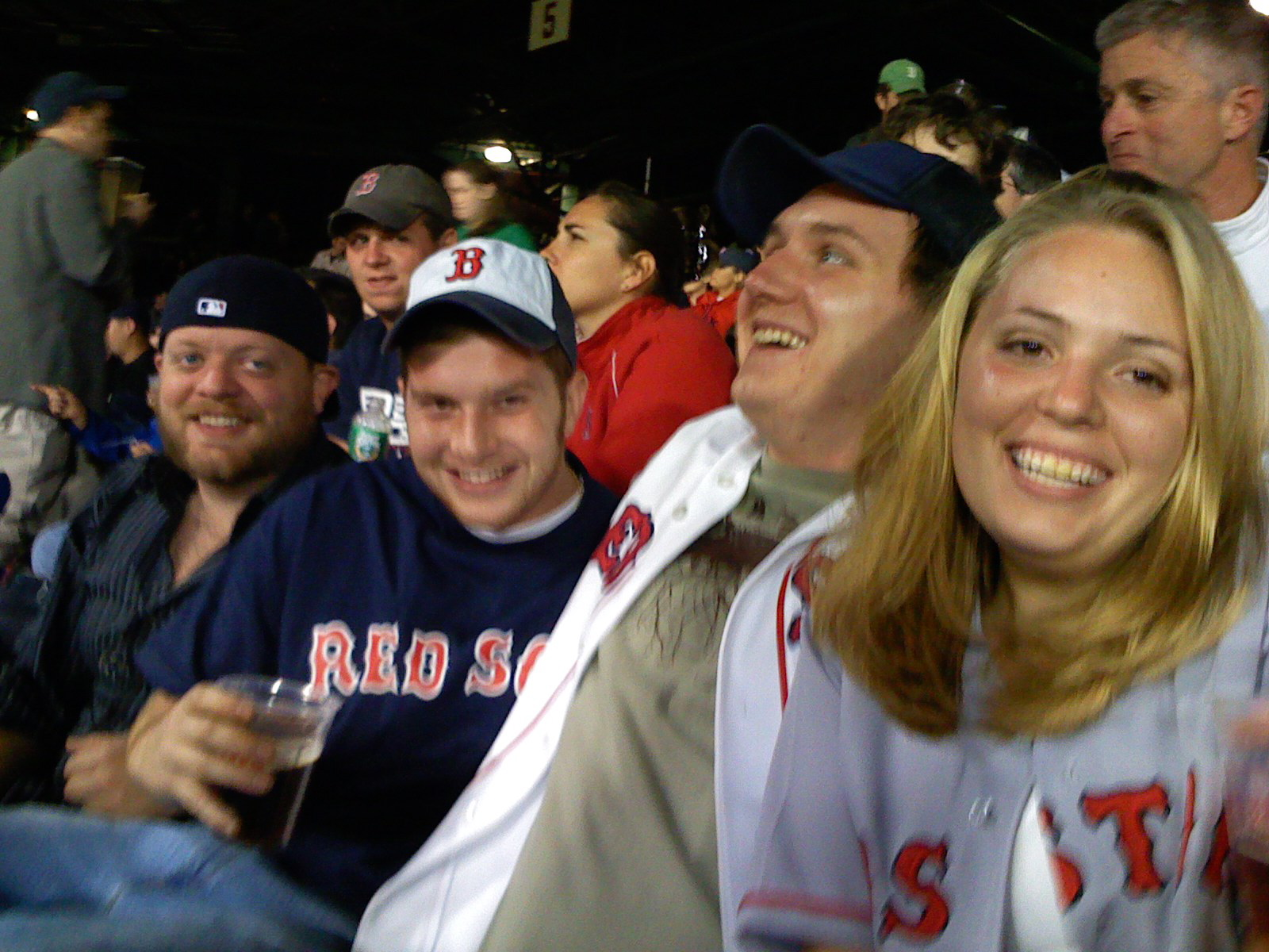 Red Sox Game 161 - The Crew