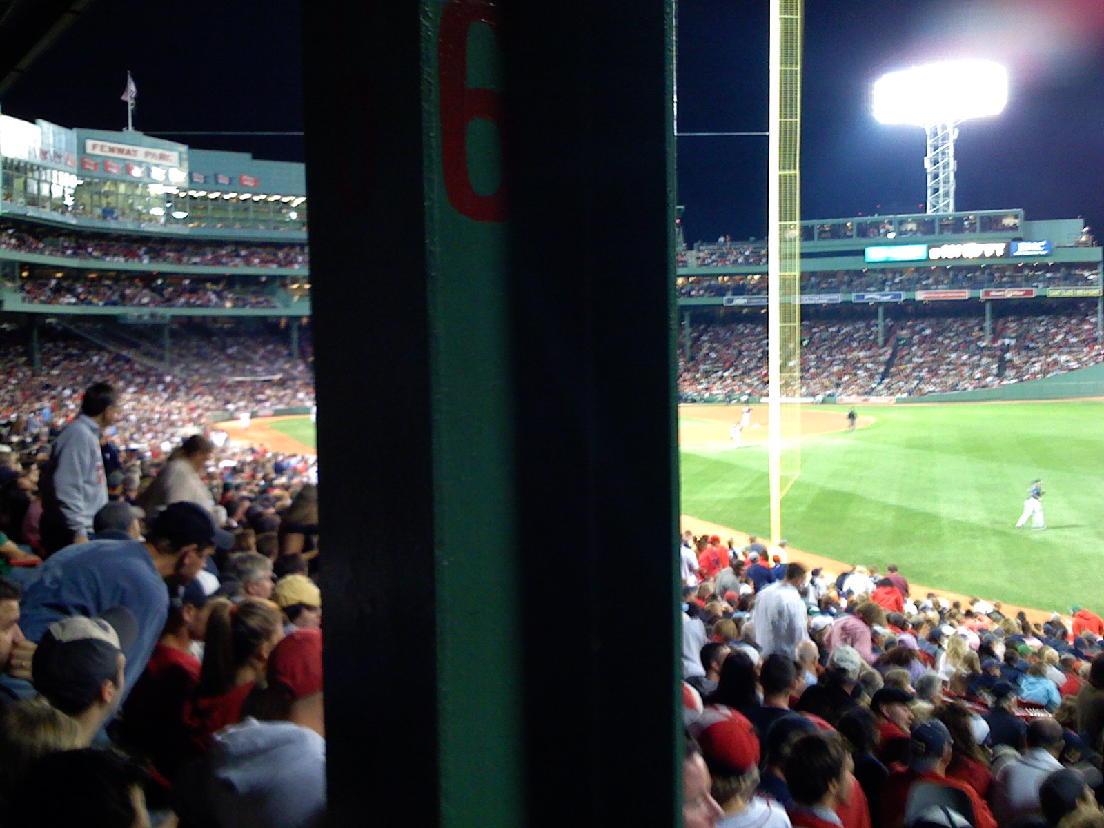Red Sox Game 161 - The Pole