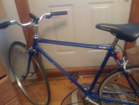 My New (Used) Shogun Bicycle