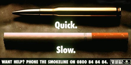 Quick or Slow Stop Smoking Ad