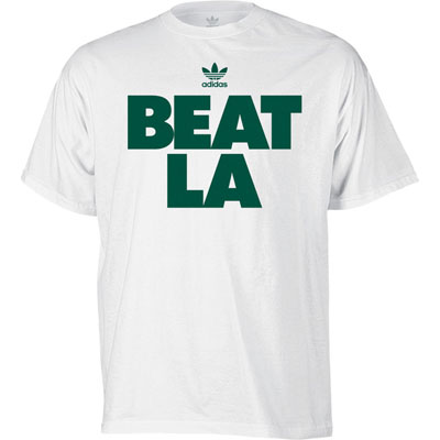 Celtics Beat LA White T-shirt