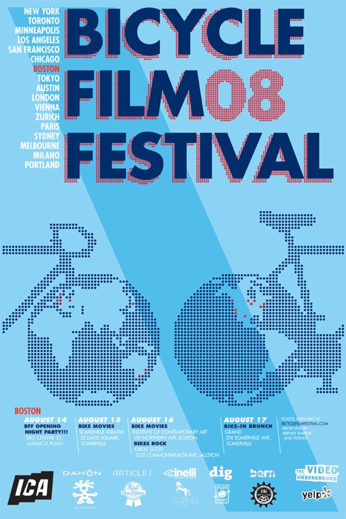 Boston Bicycle Film Festival Poster