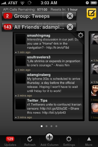 Tweetdeck iPhone Application Released